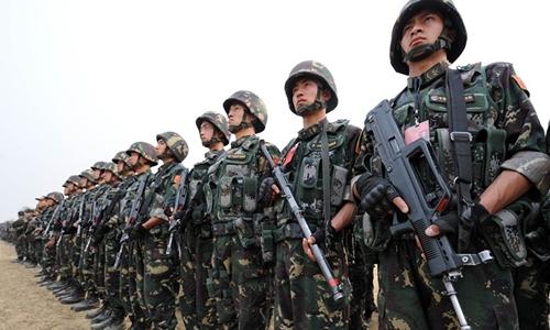 Binh lính Trung Quốc. Ảnh: AFP.