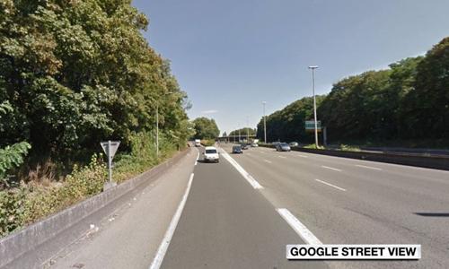 Tuyến cao tốc gần sân bay