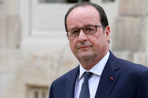 Tổng thống Pháp Francois Hollande. Ảnh: