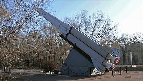Một bệ phóng tên lửa chống tên lửa đạn đạo trong hệ thống A-35. Ảnh: Russian Internet.