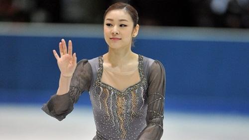 Vận động viên trượt băng nghệ thuật Hàn Quốc Kim Yu-na. Ảnh: CBC