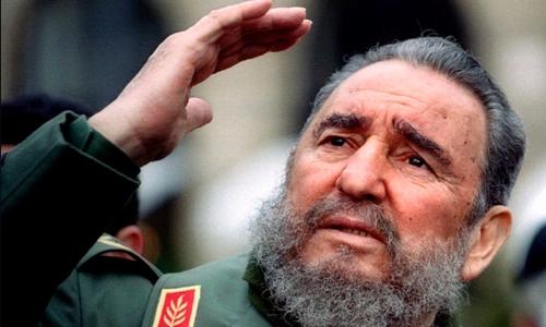 Cựu chủ tịch Cuba Fidel Castro. Ảnh: CNN.