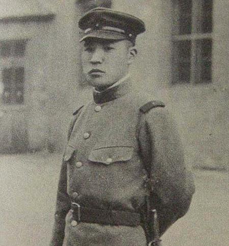 Binh nhì Shimura Kikujiro. Ảnh : Axis History.