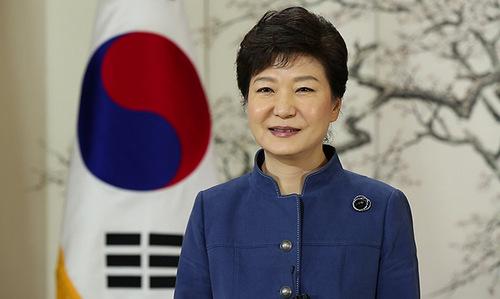 Tổng thống Hàn Quốc Park Geun-hye. Ảnh: Korea.net.