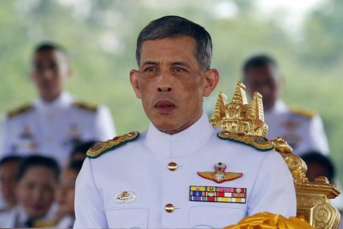 Thái tử Maha Vajiralongkorn là tân vương của Thái Lan. Ảnh: Reuters