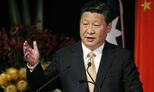 Ông Tập Cận Bình tự lấy mình làm gương trong cuộc chiến chống tham nhũng. Ảnh: Reuters.