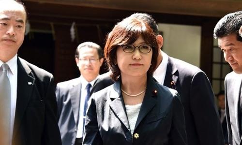 Nữ Bộ trưởng Quốc phòng Nhật Bản Tomomi Inada. Ảnh: AFP.
