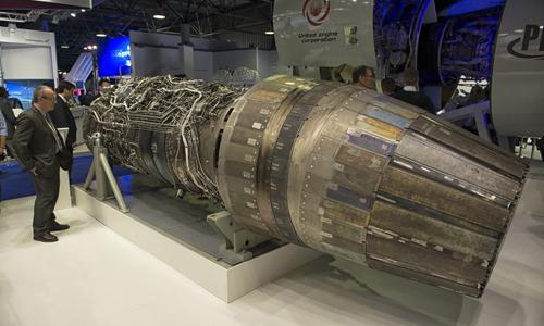 Động cơSaturn AL-41F1S trang bị trên tiêm kích Su-35. Ảnh: Sputnik