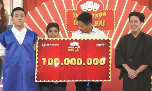 Anh chàng đã lập kỷ lục khi ẵm giải 100 triệu đồng của  Thách thức danh hài.