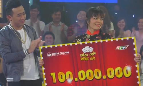 Thí sinh Phan Thị Hiên xuất sắc chinh phục giải thưởng 100 triệu đồng của Thách thức danh hài.