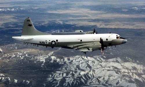 Phi cơ P-3 của hải quân Mỹ. Ảnh: NBC News.