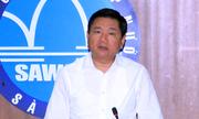 Ông Đinh La Thăng: 'Không được tính tỷ lệ thất thoát vào giá nước'