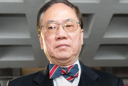 Cựu trưởng đặc khu Hong Kong Tăng Âm Quyền. Ảnh: AFP