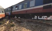 Thông tuyến đường sắt Bắc Nam sau tai nạn làm 3 người chết