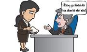 Sếp nổi đóa vì nhân viên thân mật với khách hàng