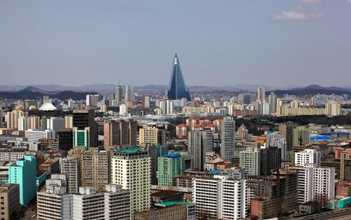 Hình ảnh thủ đô Bình Nhưỡng, Triều Tiên. Ảnh: Pininterest