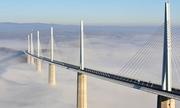 Quá trình lắp ráp cây cầu cao nhất thế giới
