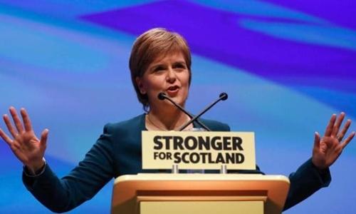 Thủ hiến Scotland Nicola Sturgeon. Ảnh: Reuters.