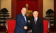 Hai ngày thăm Việt Nam của Tổng thống Israel