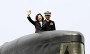 Đài Loan khởi động dự án tàu ngầm tự đóng đầu tiên