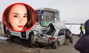 Cô gái xinh đẹp đâm nát ôtô vì vừa lái xe vừa livestream