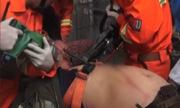 Công nhân bị 4 thanh thép đâm xuyên người vẫn sống