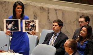 Cuộc họp nảy lửa ở Liên Hợp Quốc trước khi Mỹ tấn công Syria
