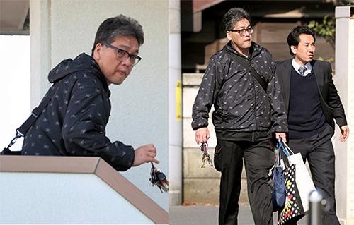 Shibuya hôm bị bắt giữ 14/4. Ảnh: Asahi