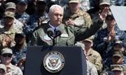 Phó tổng thống Mỹ cảnh báo Triều Tiên: 'Gươm luôn sẵn sàng'