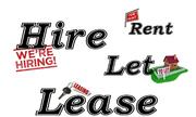 Phân biệt cách dùng các từ hire, rent và lease
