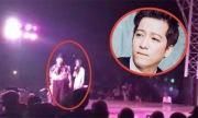 Trường Giang nổi giận bỏ về vì bị ném chai lên sân khấu