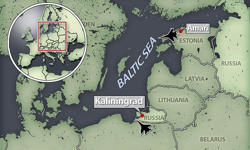 Mỹ điều tiêm kích tàng hình F-35 đến sát biên giới Nga