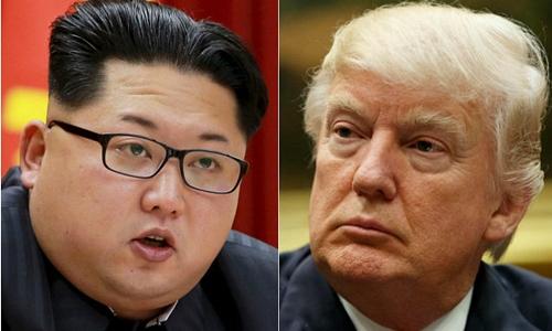 Nhà lãnh đạo Triều Tiên Kim Jong-un và Tổng thống Mỹ Donald Trump. Ảnh: Reuters/AP.