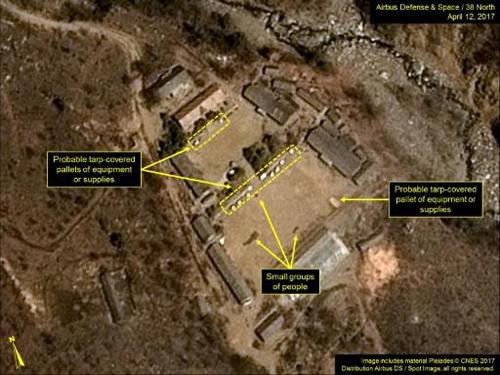 Triều Tiên có hoạt động bất thường ở bãi thử hạt nhân