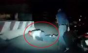 Cuộc truy đuổi cặp vợ chồng hờ trộm xe máy như phim hành động