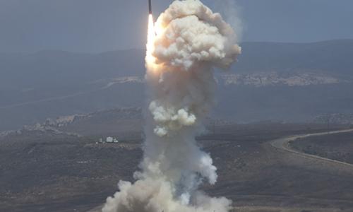 Tên lửa đánh chặn Mỹ. Ảnh: Missile Defense