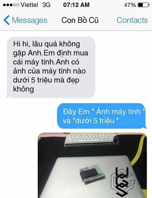 Khi con gái mua máy tính.