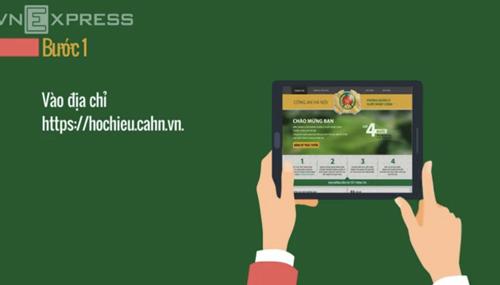 Hướng dẫn đăng ký cấp hộ chiếu qua mạng trong 10 phút