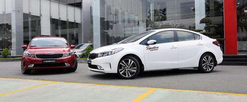 Kia Cerato là mẫu sedan bán chạy thứ hai tại Việt Nam trong năm 2016 vừa qua với doanh số bán lên tới 7.000 xe.