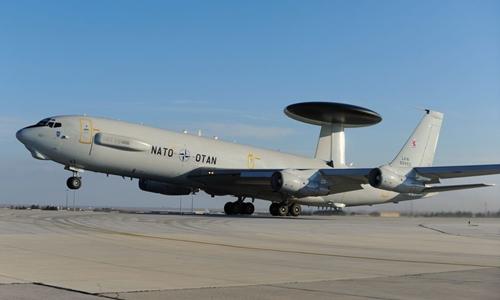Phi cơ AWACS của NATO. Ảnh: The Aviationist.