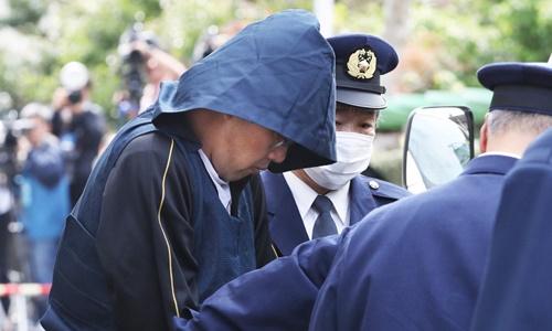 Nghi phạm Shibuya bị khởi tố. Ảnh: Reuters