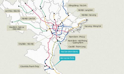 Những tuyến cao tốc sắp xây dựng tại Việt Nam