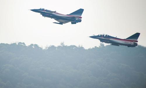 Máy bay J-10 của Trung Quốc. Ảnh: