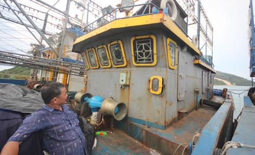 Tàu hỏng, doanh nghiệp nói ngư dân 'vận hành không đúng quy trình'