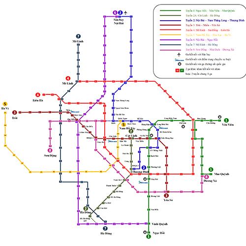Dự án đường sắt Cát Linh – Hà Đông 'mượn' bản đồ trên mạng để trưng bày
