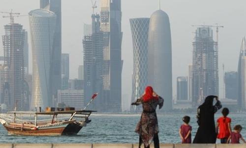 Thủ đô Doha của Qatar. Ảnh: BBC