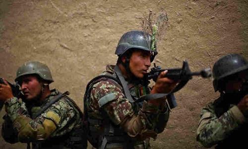 Lính biệt kích Afghanistan. Ảnh: NPR.