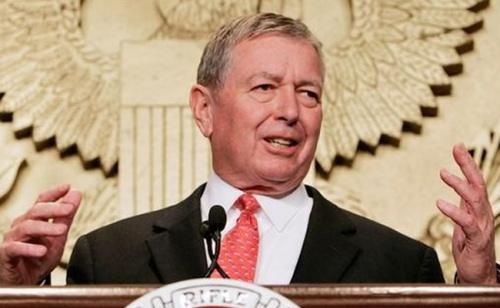 John Ashcroft, cựu bộ trưởng Tư pháp Mỹ. Ảnh: