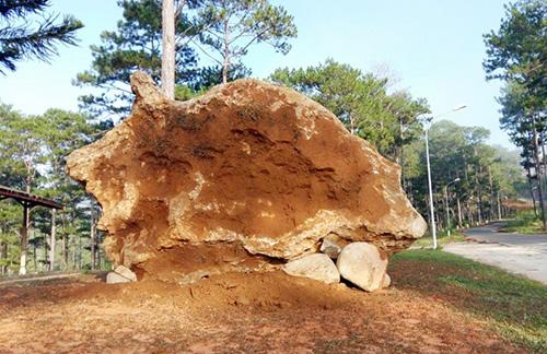 Tảng đá quý 20 tấn ở Lâm Đồng được giao cho chủ mới