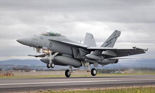 Chiến đấu cơ F-18 của không quân Australia. Ảnh: Defense Industry Daily.